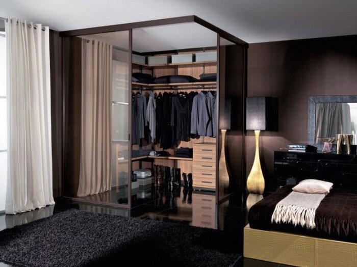 Interventi di ristrutturazione in camera da letto la - Cabina armadio dimensioni ...